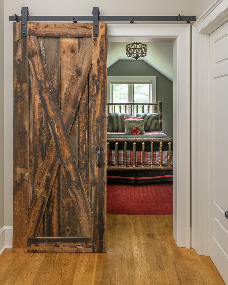Sliding Barn door closeup