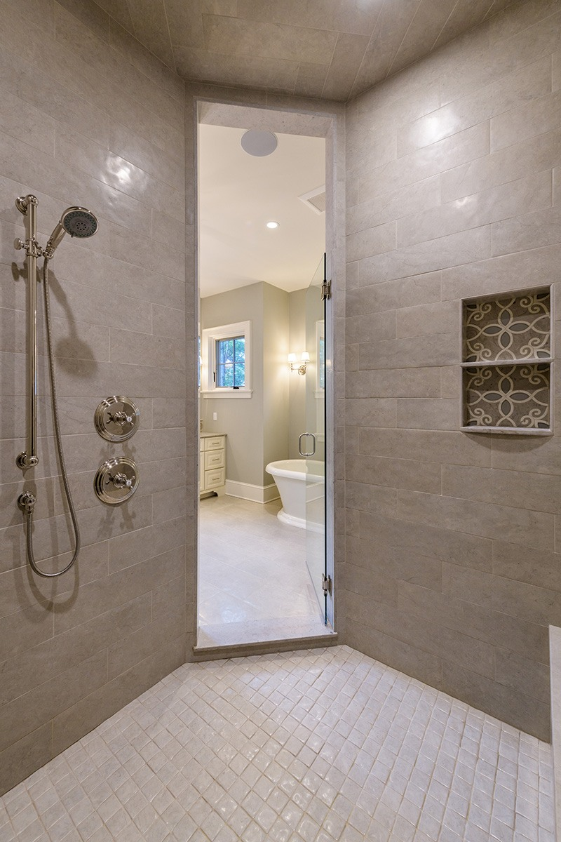 Master Bathroom Stand Up Shower