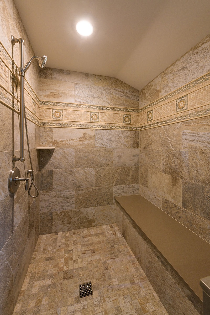 Stone Bathroom Seating