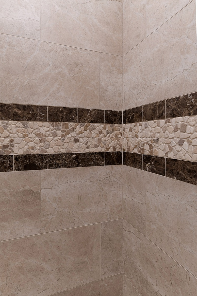 Stone Shower Wall