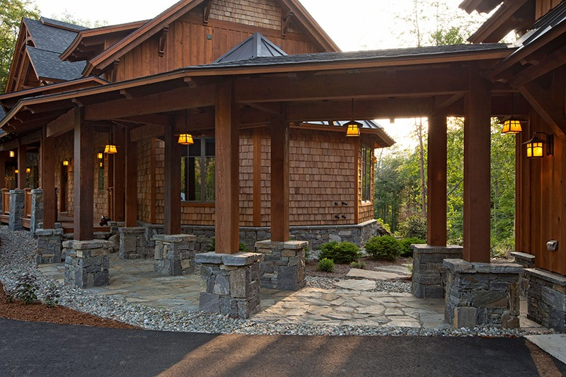 Exterior Covered Walkway